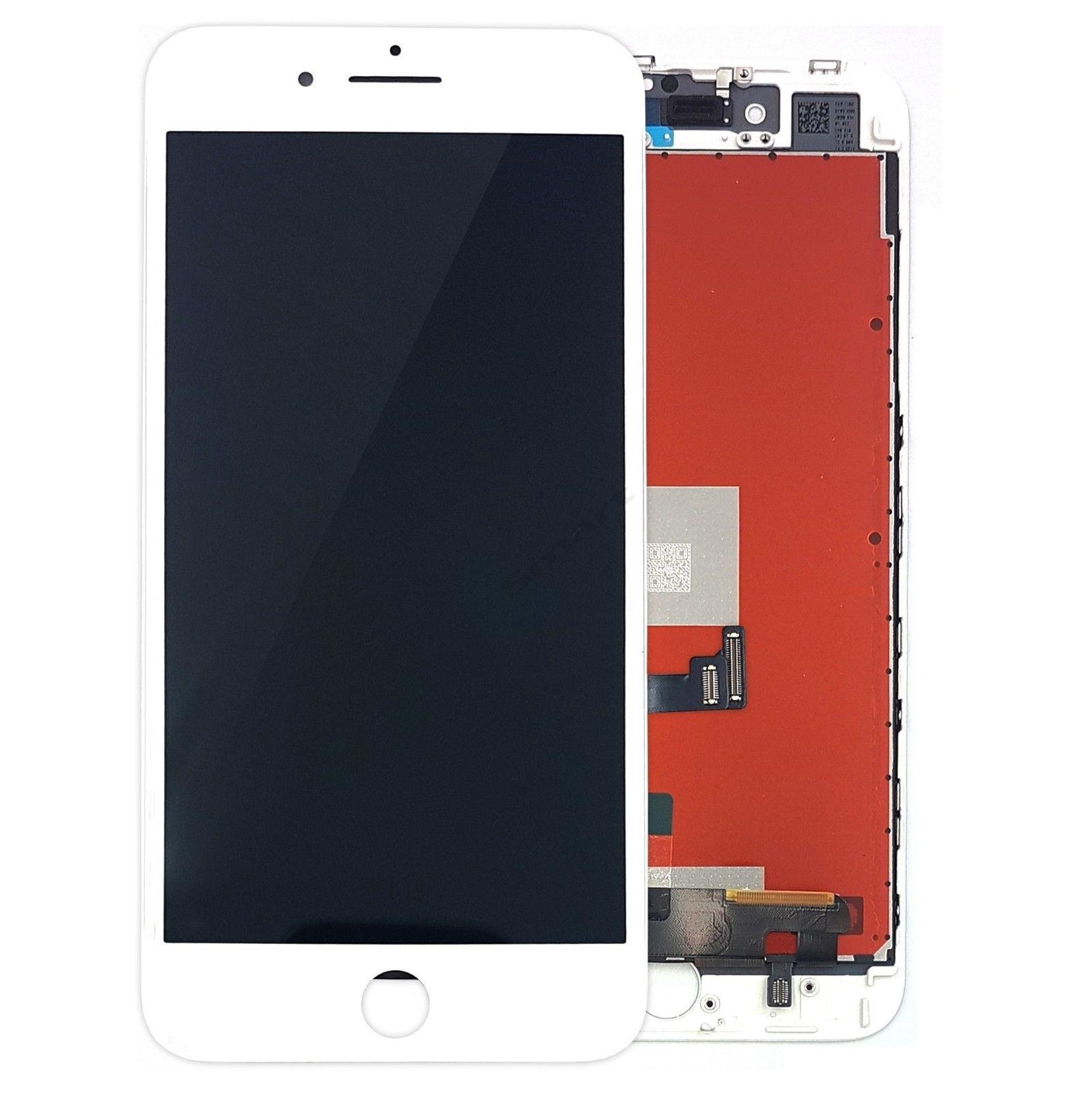 Apple iPhone 8 LCD displej a dotyk bílý OEM