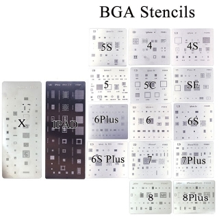 Apple iPhone a iPad sada 16ti  stencils / matrice na reball BGA komponentů